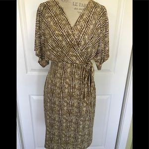 JLo Faux Wrap Dress